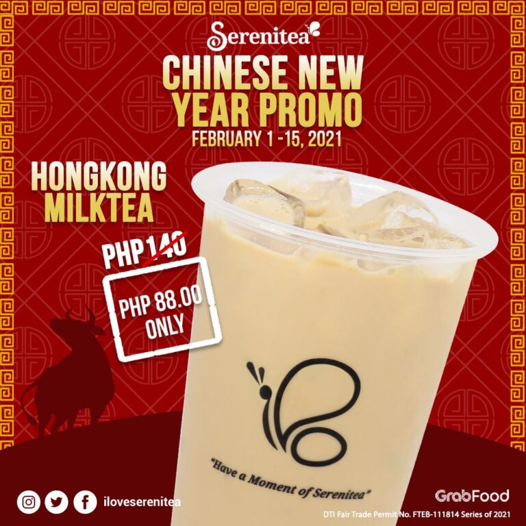 Chinese New Year Promo 2021